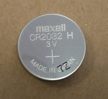 Maxell CR2032 - nebalená průmyslová baterie (volná)