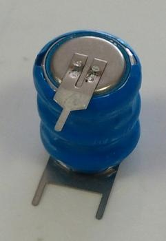 Baterie pro zálohování pamětí CMOS 3,6V 80mAh NiMH s piny