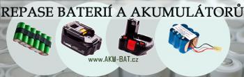 Repase baterie 12V 1300mAh NiCd Panasonic