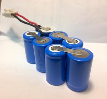 Bateriová sestava 8,4V 1600mAh z článků Xcell 2/3A NiMH