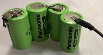 Baterie pro vysavač Ni-Cd 4,8V 1700mAh 4-článek