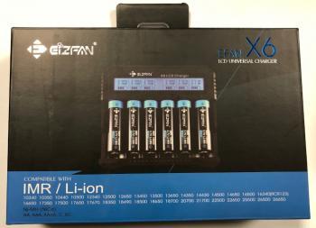 EFAN Nabíječka X6 LCD univerzální CIZFAN
