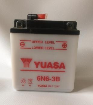 motobaterie YUASA 6N6-3B (6V 6Ah)