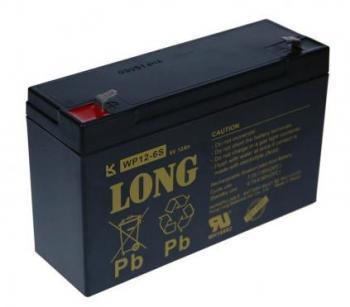 Long 6V 12Ah olověný akumulátor