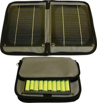 TPS-956 solární nabíječka akumulátorů - bez akumulátorů
