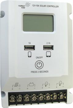Solární regulátor TPS-535 12V 15A