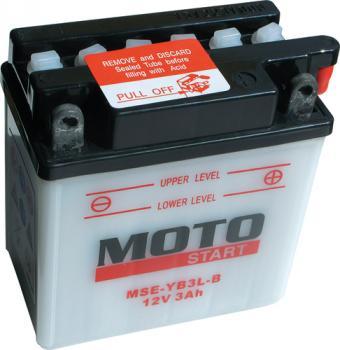 Motobaterie Motostart MSE-YB3L-B 12V 3Ah