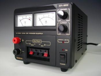 Laboratorní zdroj MANSON 0-30 VDC / 2,5 A, 75 W, EP-603