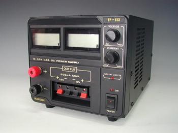 Laboratorní zdroj MANSON 0-30 VDC / 2,5 A, 75 W, EP-613