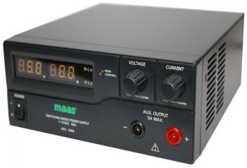 Laboratorní zdroj MAAS 1-15 VDC / 0-40 A, 600 W, HCS-3400