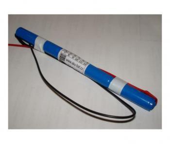 Baterie pro nouzová světla 4xAA NiCd 4,8V 800mAh - za sebou