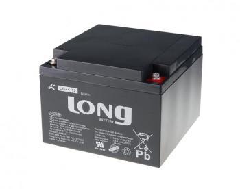 Long 12V 24Ah olověný akumulátor DeepCycle GEL F3 LG24-12N
