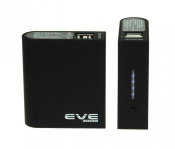 Powerbank - Externí baterie EVE Li-ion 5V 19Wh micro USB black