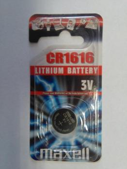 Knoflíková baterie Maxell CR1616 CR 1616