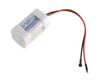 Akupack NiMh 2+2 AA 4,8V 2000mAh Eneloop s kablíkem