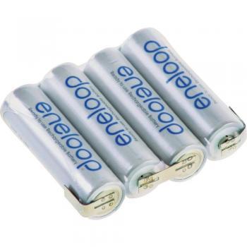 Akupack NiMh 4x1 AA 4,8V 2000mAh Eneloop s pásky