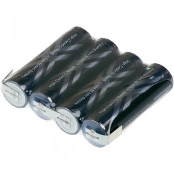 Akupack NiMH 4x1 AA 4,8V 2500mAh Eneloop Pro s pásky