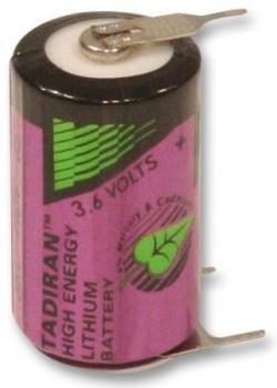 Baterie Tadiran SL-550/T 1/2AA 3,6V s PCB vývody