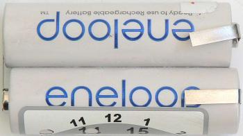 Akupack NiMH 2x1 Eneloop 2,4V 2000mAh AA