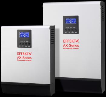 Hybridní invertor pro domácí solární elektrárnu AX-K 1000 - 12V UPS 1000VA