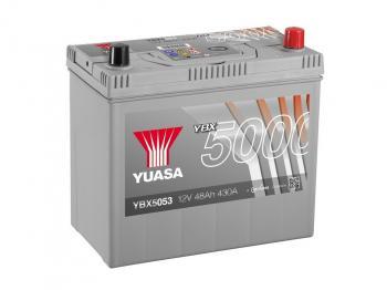 autobaterie YUASA YBX5053 12V 48Ah 430A