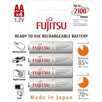 Baterie FUJITSU WHITE AA 1900mAh 4ks HR-3UTCEX-4B