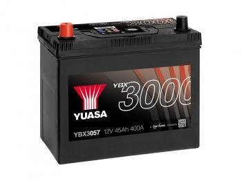 Autobaterie YUASA YBX3057 12V 45Ah 400A