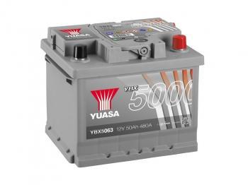 autobaterie YUASA YBX5063 12V 50Ah 480A