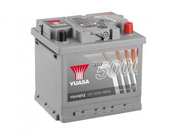 autobaterie YUASA YBX5012 12V 52Ah 480A