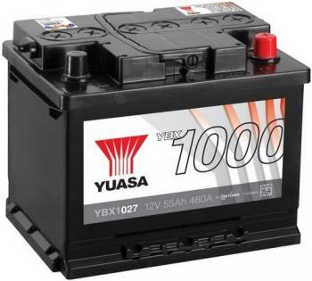 Autobaterie YUASA YBX1027 12V 55Ah 480A