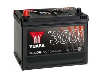 autobaterie YUASA YBX3069 12V 70Ah 570A