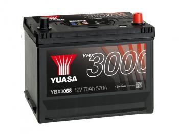 autobaterie YUASA YBX3068 12V 70Ah 570A