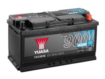 autobaterie YUASA YBX9019 12V 95Ah 850A