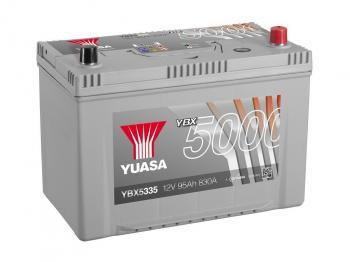 autobaterie YUASA YBX5335 12V 95Ah 830A