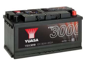 Autobaterie YUASA YBX3019 12V 95Ah 850A