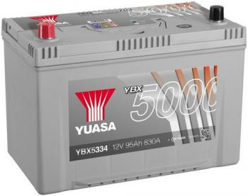 autobaterie YUASA YBX5334 12V 95Ah 830A