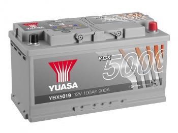 autobaterie YUASA YBX5019 12V 100Ah 900A