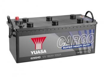 Autobaterie YUASA 629SHD 12V 180Ah 1050A