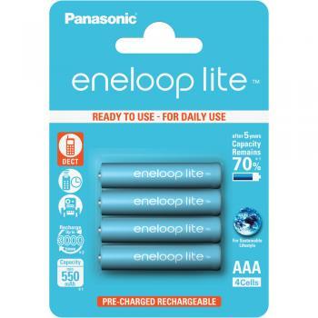 Panasonic BK-4LCCE/4BE ENELOOP LITE AAA 4ks