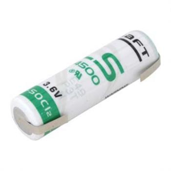 SAFT LS14500-CNR lithiový článek STD 3.6V 2600mAh velikost AA s vývody do U