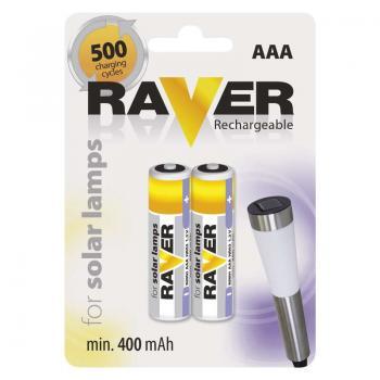 Baterie Raver NiMH 400mAh AAA HR03 2ks v blistru
