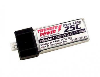 Akumulátor Thunder Power Ultra Micro 25C 125 mAh 3,7V