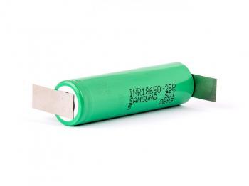 Baterie Li-Ion 18650 Sony VTC4 2100mAh 3,7V 30A US18650VTC4 s vývody do Z