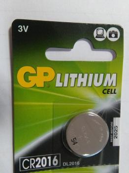 Knoflíková baterie GP CR2016