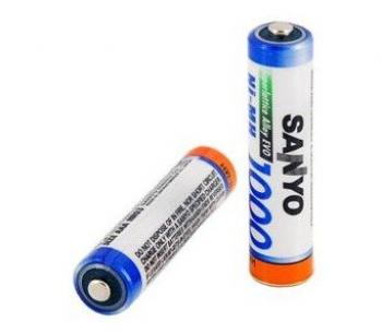 Baterie Sanyo NiMH 1,2V AAA 1000mAh HR-4U - 1ks