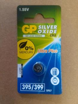 Knoflíková baterie GP 395 SR57 399 - Silver Oxid