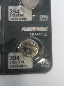 Knoflíková baterie Rayovac 394 (SR936SW)