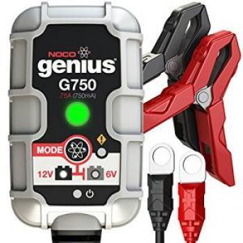 Nabíječka NOCO G750 (6/12V 0,75A)  pro olověné akumulátory (1,2-30Ah)