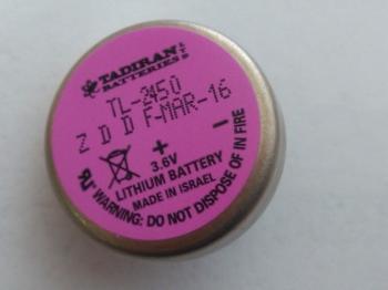 Baterie Tadiran TL-2450/P 3,6V 550mAh velikost 1/10C