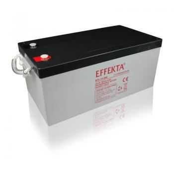Baterie Effekta BTL12-260 12V 260Ah - 10 let